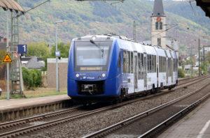 Local Rhine River train